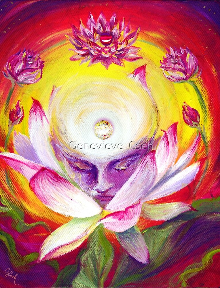 TBC5 (To Become Conscious) by Genevieve  Cseh
