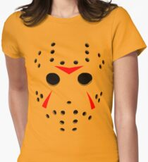 Hockey Mask Women's Fitted T-Shirt