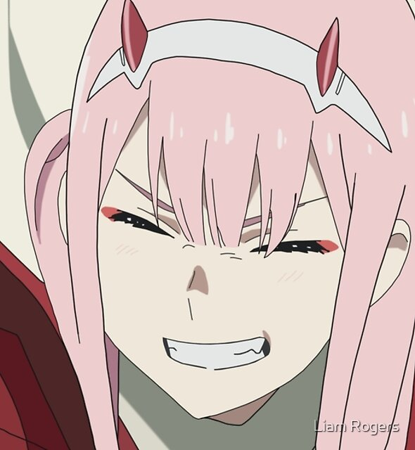Zero Two Smile by Liam Rogers