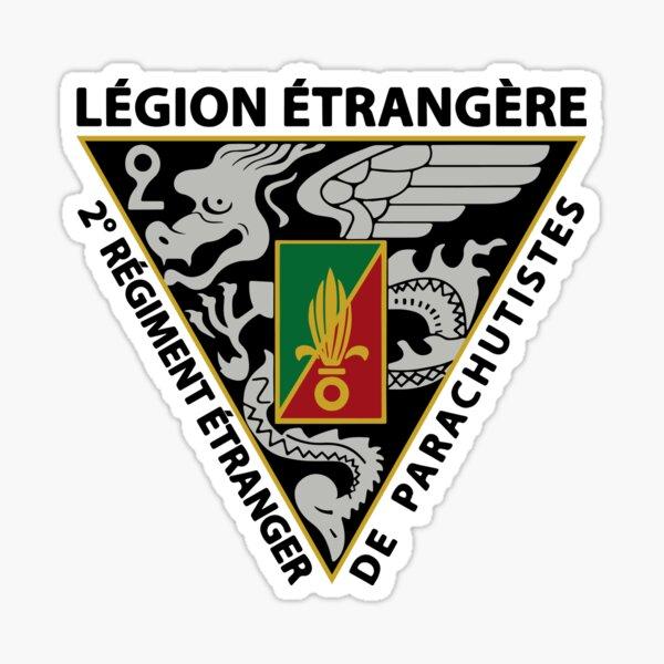 2e régiment de parachutistes étrangers Sticker