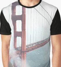 Golden Gate Bridge Graphic T-Shirt