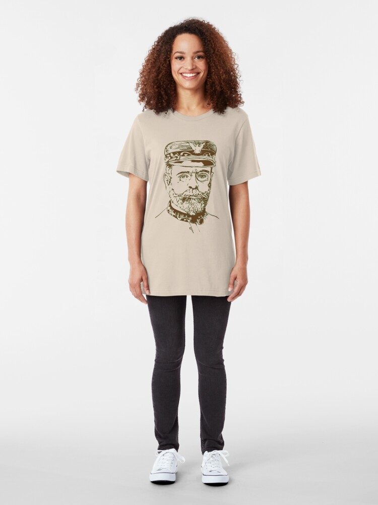 Alternate view of John Philip Sousa - the March King Slim Fit T-Shirt