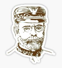 John Philip Sousa - the March King Sticker