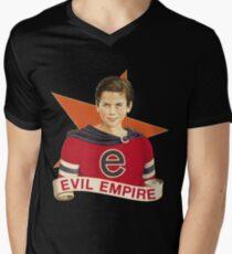 Camiseta para hombre de cuello en v imperio malvado²