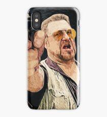 Walter Sobchak iPhone Case
