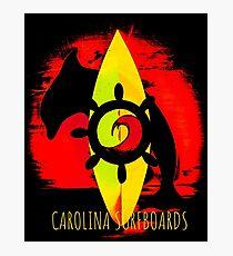 Carolina Surfboards  Photographic Print
