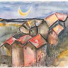 Sleepy Village by Reynaldo