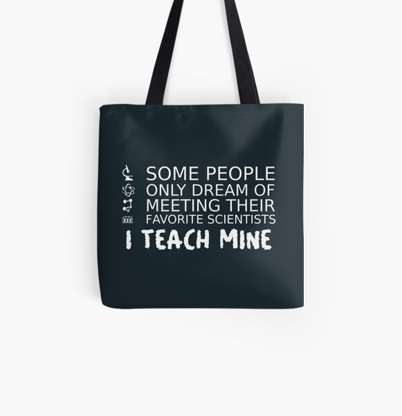 Made in UK Science Teacher Large Organic Tote Bag Made in USA Science Teacher Organic Tote Bag Science Teacher Tote Bag