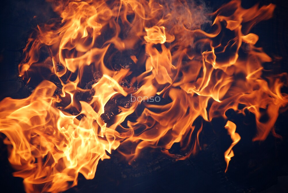 Dancing Flames by bonso