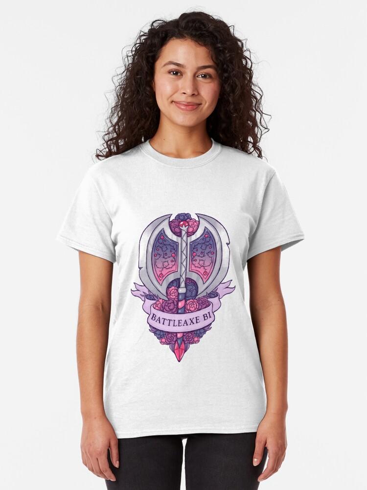 Alternative Ansicht von BATTLEAXE BI Classic T-Shirt