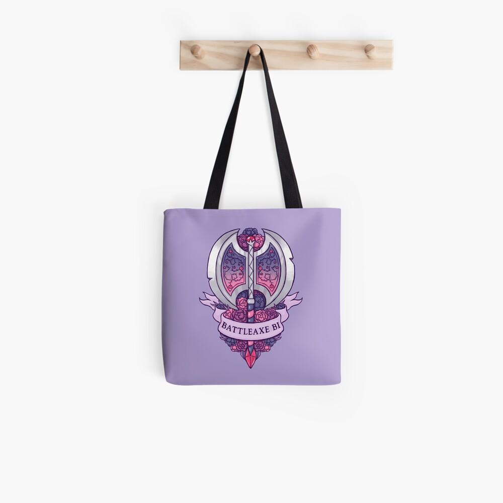 BATTLEAXE BI Tote Bag