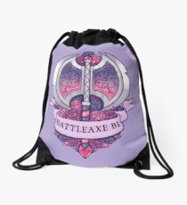 BATTLEAXE BI Drawstring Bag