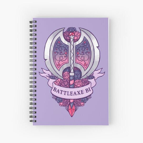 BATTLEAXE BI Spiral Notebook