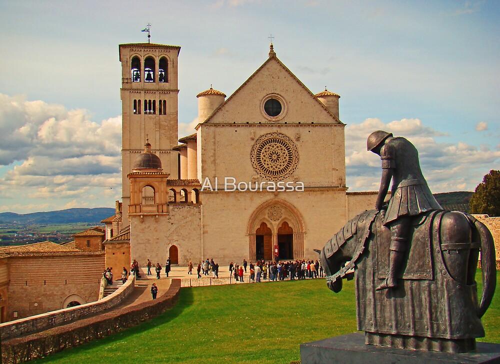 Basilica Di San Francesco Assisi II by Al Bourassa