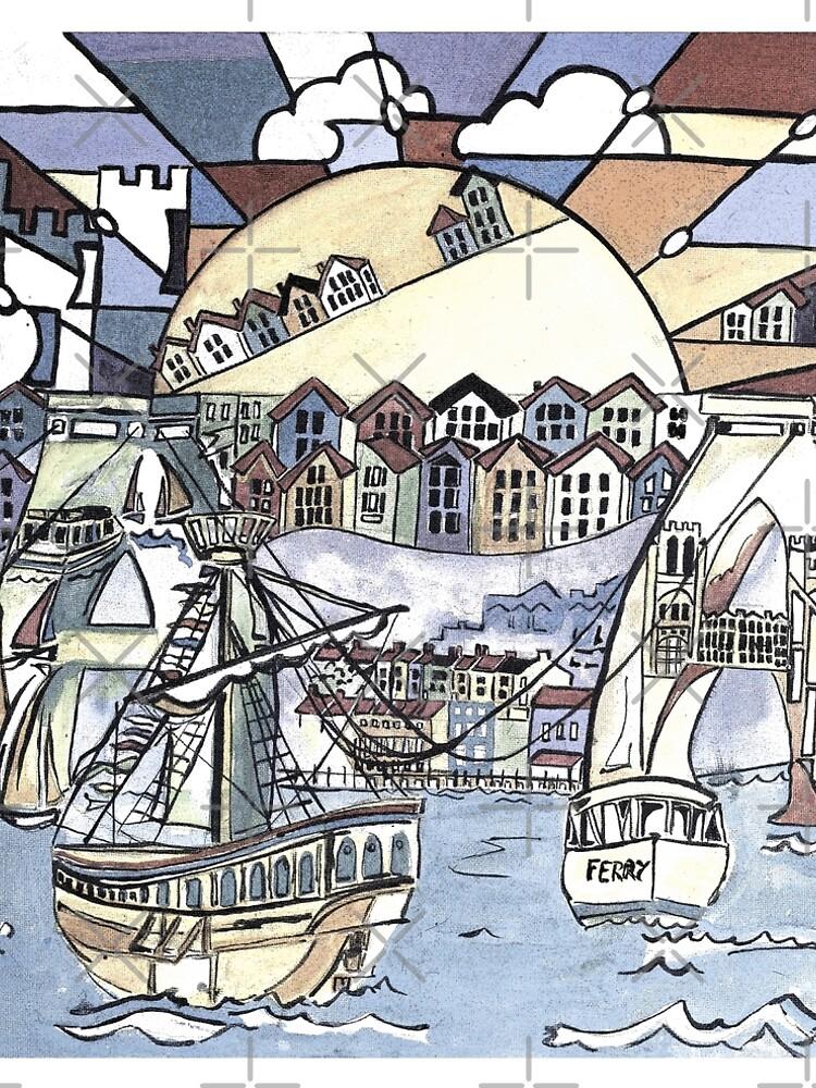 Bristol harbour by milesdesignart