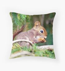 Tree Branch Eatery Throw Pillow