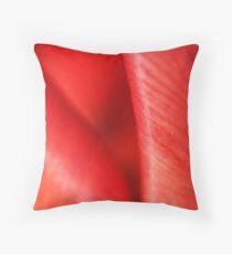 Abstract Tulip! Throw Pillow