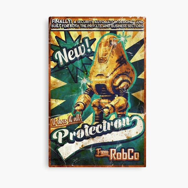 Protectron Ad Canvas Print