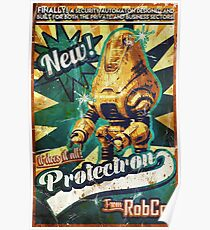 Protectron Ad Poster