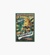 Protectron Ad Art Board