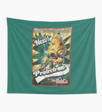 Protectron Ad Wall Tapestry