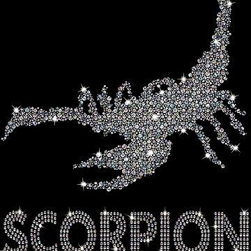 Scorpion Album - June Twenty Eighteen - Diamonds  by perrymsb