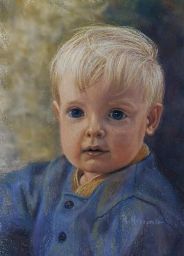 Little Boy In Blue by roseart