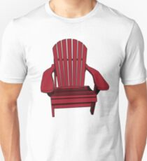 Sit back and relax in the Muskoka Chair Unisex T-Shirt