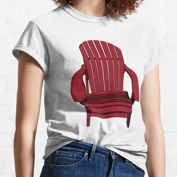 Sit back and relax in the Muskoka Chair Classic T-Shirt