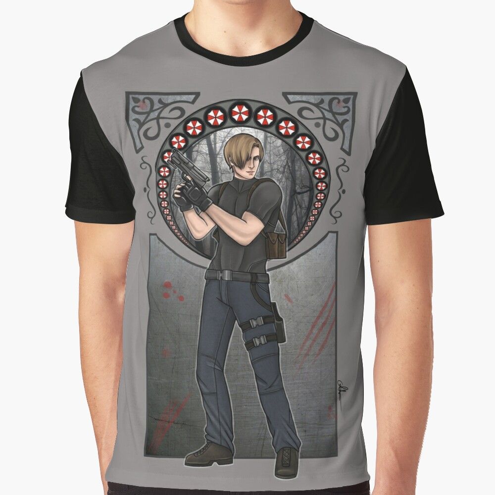 Leon S. Kennedy Graphic T-Shirt