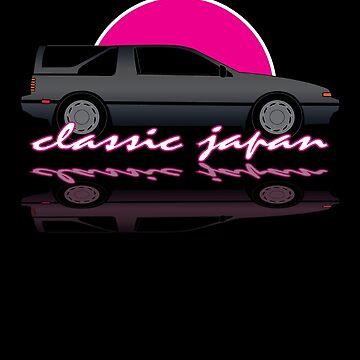 Classic Japan - Nissan Exa Sportbak by SEZGFX