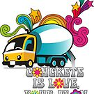 Concrete is love by Arlene Zapata