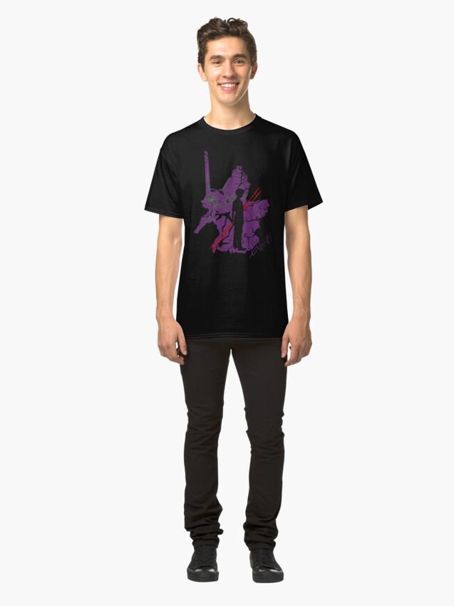 Alternate view of Evangelion Unit-01 Classic T-Shirt