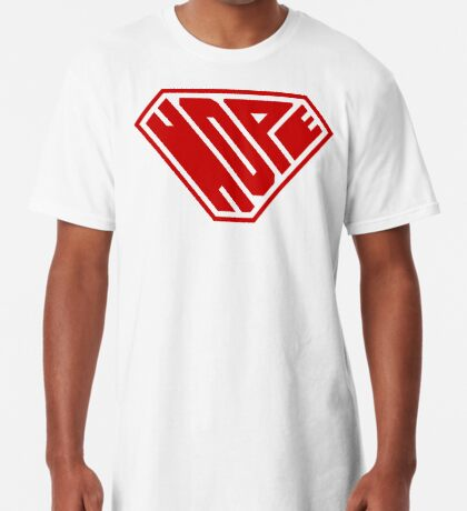 Hope SuperEmpowered (Red) Long T-Shirt