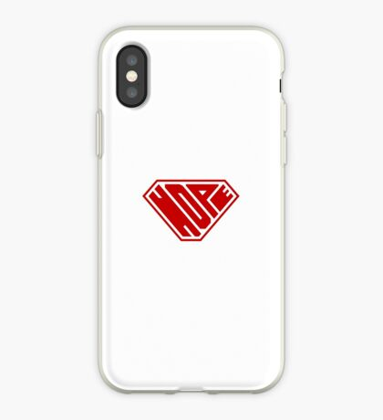 Hope SuperEmpowered (Red) iPhone Case