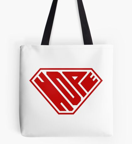 Hope SuperEmpowered (Red) Tote Bag