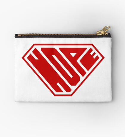 Hope SuperEmpowered (Red) Zipper Pouch