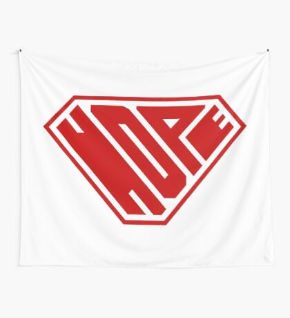 Hope SuperEmpowered (Red) Wall Tapestry