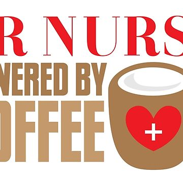ER NURSE powered by coffee by jazzydevil