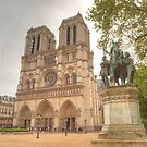 Notre Dame & Charlemagne by Michael Matthews