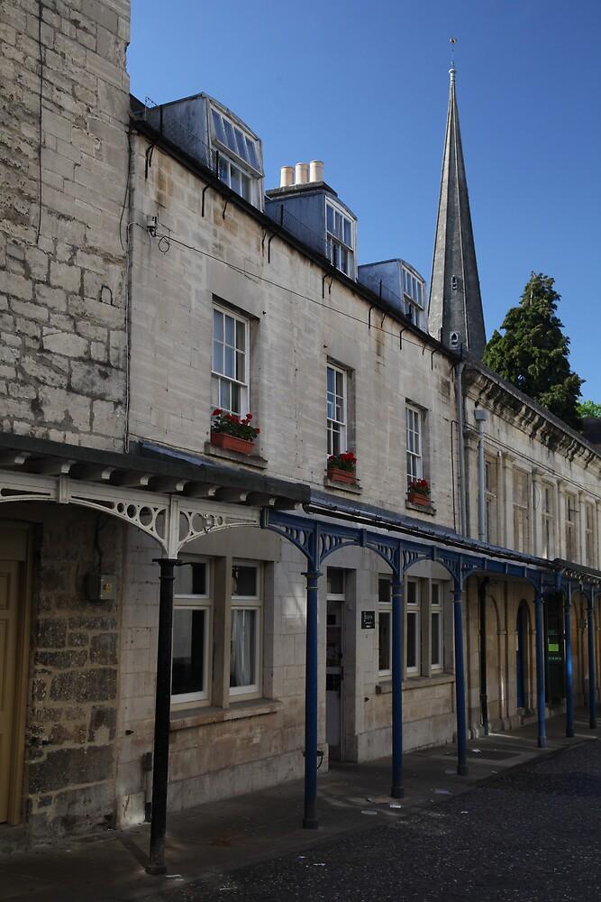 The Shambles in Stroud by Jeff  Wilson