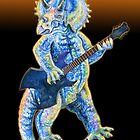 Jurassic Jazz - Tricerotops plays Electric Guitar by MissMusica