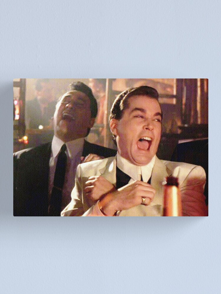 Alternate view of Laughing meme Canvas Print
