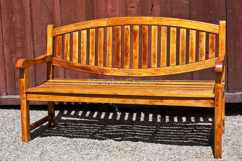 Garden Bench by Nickolay Stanev