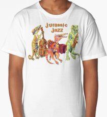 Jurassic Jazz - Dinosaur Trio Long T-Shirt