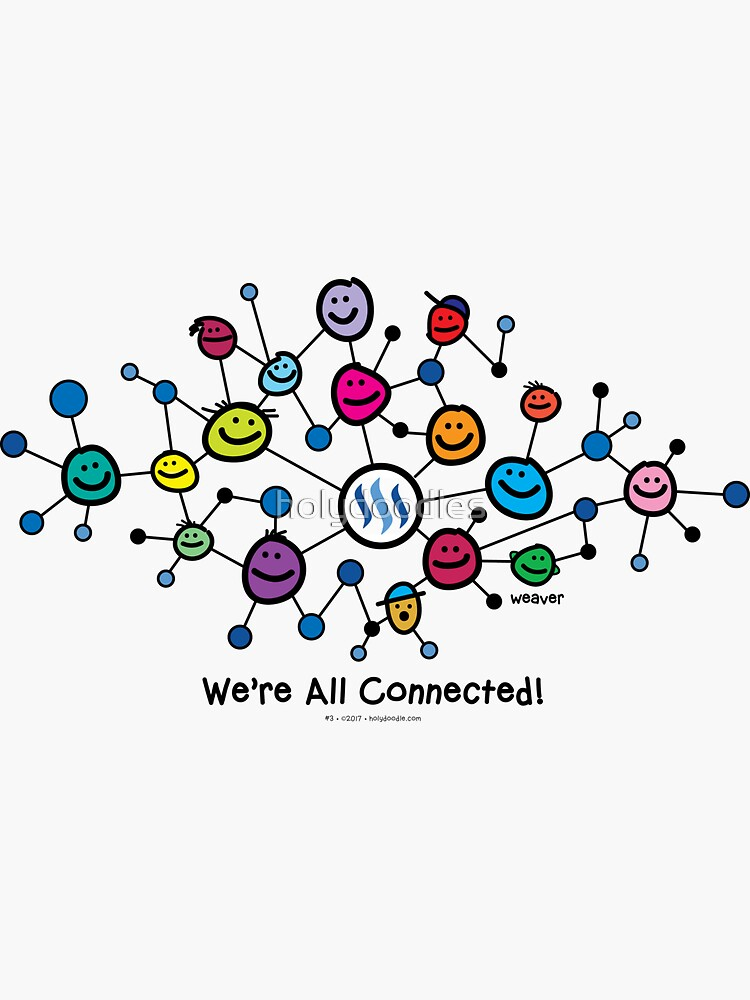 Steemit Blockchain - We're All Connected...  by holydoodles