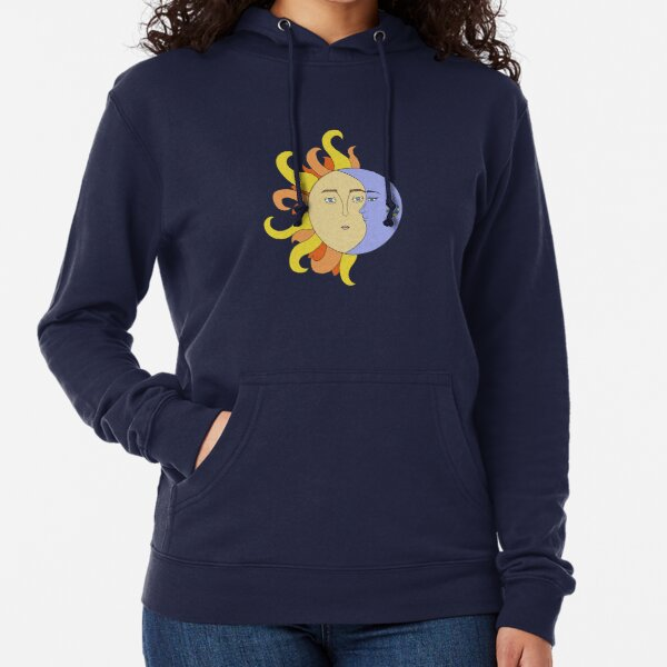 Sun and Moon Lightweight Hoodie