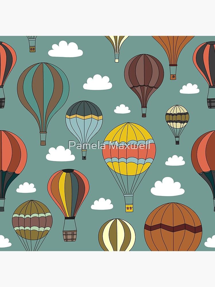Vintage Hot Air Balloons by pamela4578