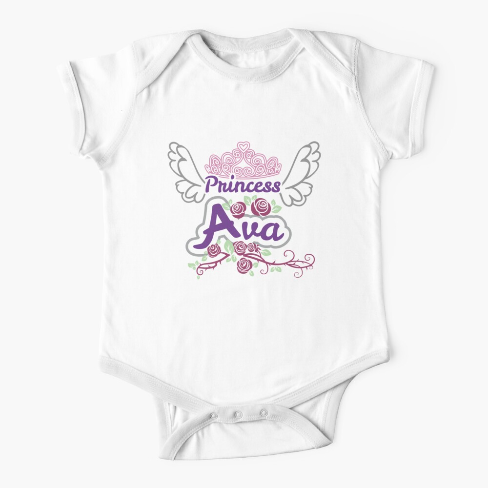 Crown Princess Ava On Board Personalised Baby Child Girls Car Sign