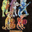 Jurassic Jazz - Dinosaur Quintet by MissMusica